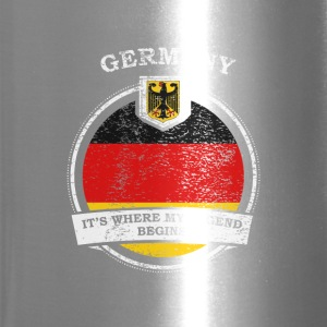 Germany It's Where My Legend Begins - Travel Mug