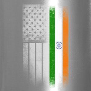 Indian American Flag - Travel Mug