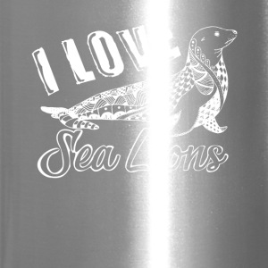 Love Sea Lions Shirt - Travel Mug