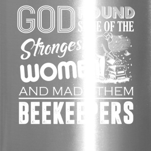 Strongest Women Become Beekeeper Shirt - Travel Mug