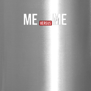 Me vs Me Gym Quote - Travel Mug