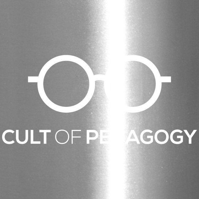 Cult of Pedagogy (white text)