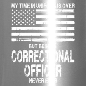 Retired Correctional Officer Shirt - Travel Mug
