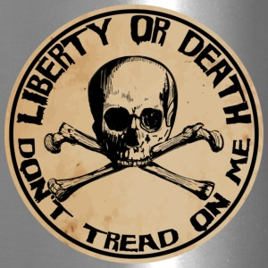 Liberty or Death Dont Tread On Me - Travel Mug