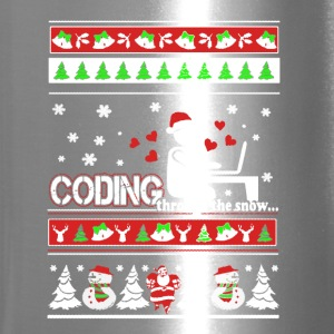 Coding Christmas Shirts - Travel Mug