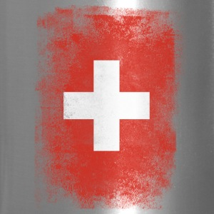 Switzerland Flag Proud Swiss Vintage Distressed - Travel Mug