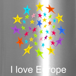 I love Europe Tshirt - Travel Mug