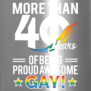 40 Year of Being Proud Awesome Gay - Travel Mug