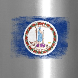 Virginia State Flag Distressed Vintage Shirt - Travel Mug