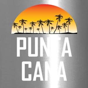 Punta Cana Sunset And Palm Trees Beach - Travel Mug