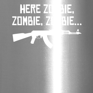 Here Zombie Zombie Zombie - Zombie Hunter - Travel Mug