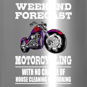 Weekend Forecast Motorcycling Motorcycle - Travel Mug