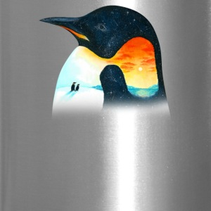 Penguin Sunset - Travel Mug