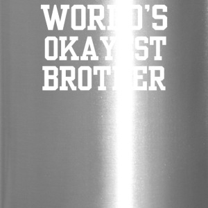Worlds Okayest Brother - Travel Mug