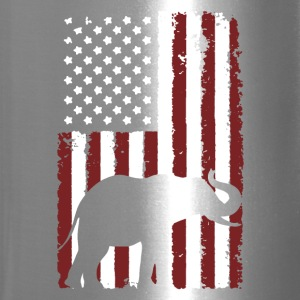 American Elephant Shirt - Travel Mug