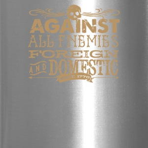 Against All Enemies foreign - Travel Mug