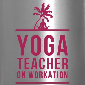 YOGA TEACHER ON WORKATION - Travel Mug