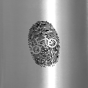 Biker's Fingerprint - Travel Mug