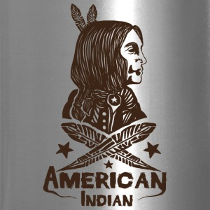 American Indian - Travel Mug