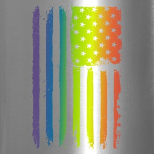 American Gay Pride Flag - Travel Mug