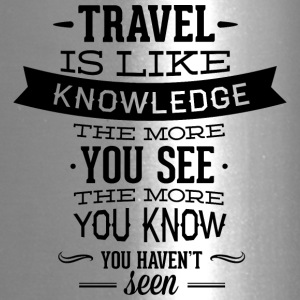 travel_like_knowledge - Travel Mug