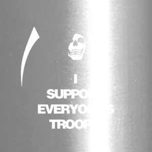 Death supports everyone's troops - Travel Mug