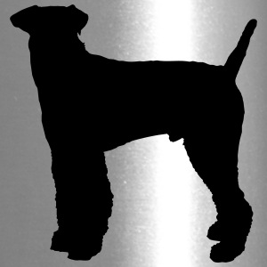 Vector dog Silhouette - Travel Mug