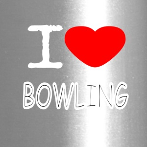 I LOVE BOWLING - Travel Mug