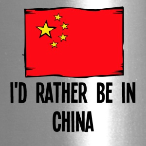 I'd Rather Be In China - Travel Mug