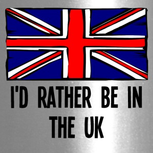 I'd Rather Be In the UK - Travel Mug