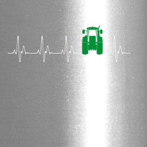 Heartbeat Traktor green - Travel Mug