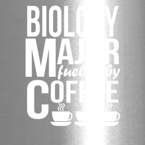 Biology Major Fueled By Coffee - Travel Mug