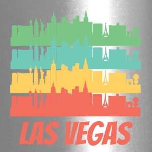 Retro Las Vegas NV Skyline Pop Art - Travel Mug