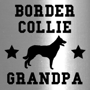 Border Collie Grandpa - Travel Mug