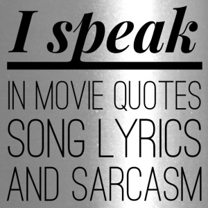 I speak in Movie Quotes - Travel Mug