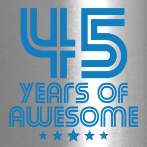 45 Years Of Awesome 45th Birthday - Travel Mug
