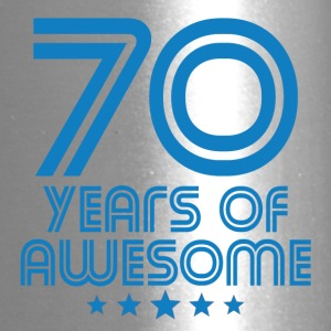 70 Years Of Awesome 70th Birthday - Travel Mug
