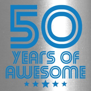 50 Years Of Awesome 50th Birthday - Travel Mug