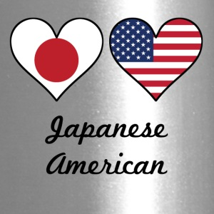 Japanese American Flag Hearts - Travel Mug