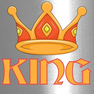 Light red king crown - Travel Mug