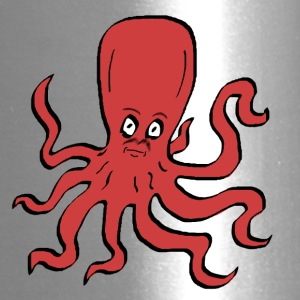 Octopus Red - Travel Mug