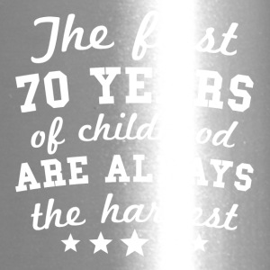 70 Years Of Childhood 70th Birthday - Travel Mug