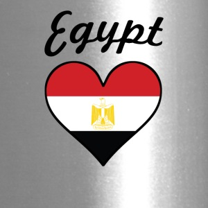 Egypt Flag Heart - Travel Mug