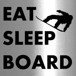 Eat Sleep Board Snowboarding - Travel Mug