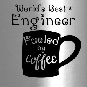 World's Best Engineer Fueled By Coffee - Travel Mug
