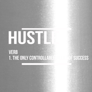 hustle verb - Travel Mug