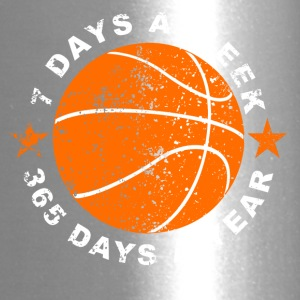 7 Days A Week Basketball - Travel Mug