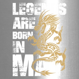 Legends Are Born in May Dragon - Travel Mug