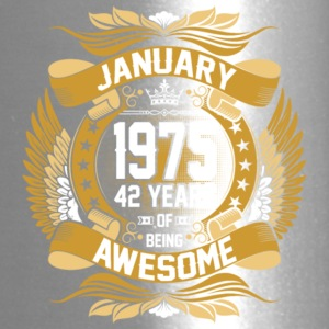 Anuary 1975 42 Years Of Being Awesome - Travel Mug