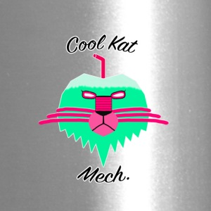 Cool Kat Mech. (Neon Glow) - Travel Mug